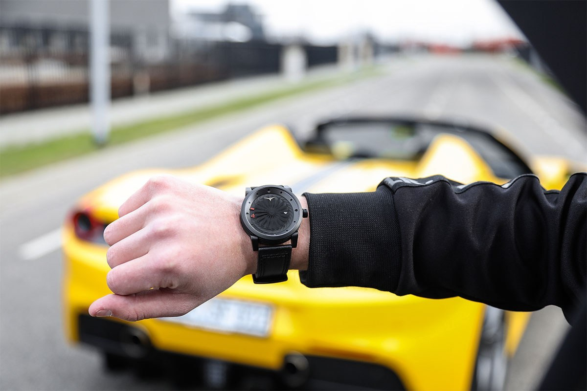 These Blade Collection watches look like something out of the coolest sci-fi